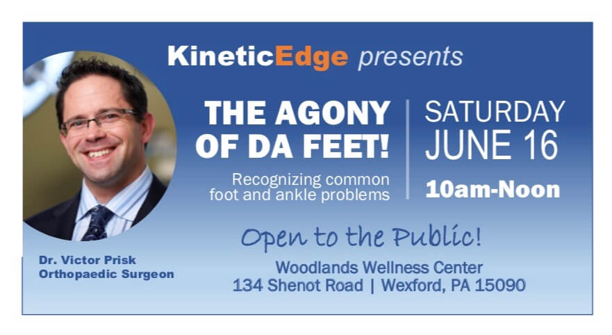 IMG 3125 1 Agony of Da Feet   2018 Healthiest You Speaker Series Event